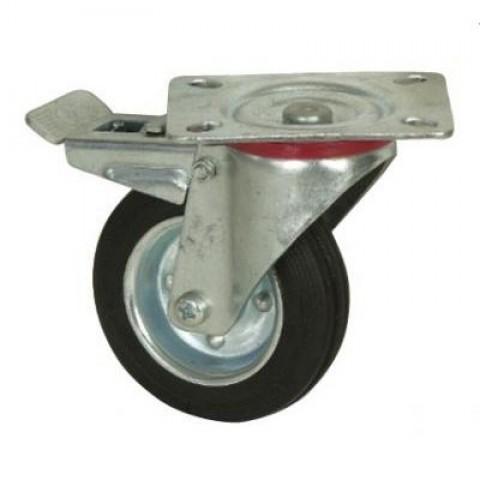 4 roues pivotantes dont 2 frein pour chariots porte outils manudiscount - Chariot porte roue tracteur ...